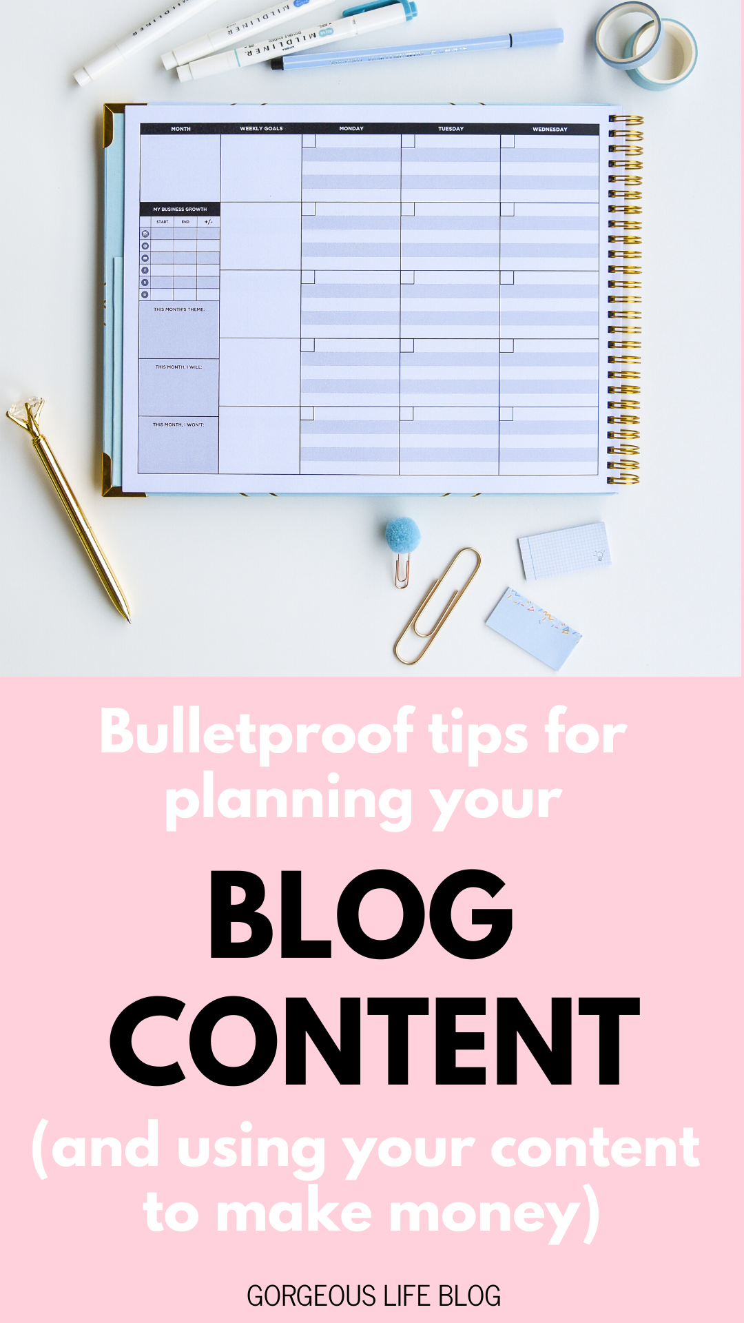 the content planner blog content planning tips kat gaskin