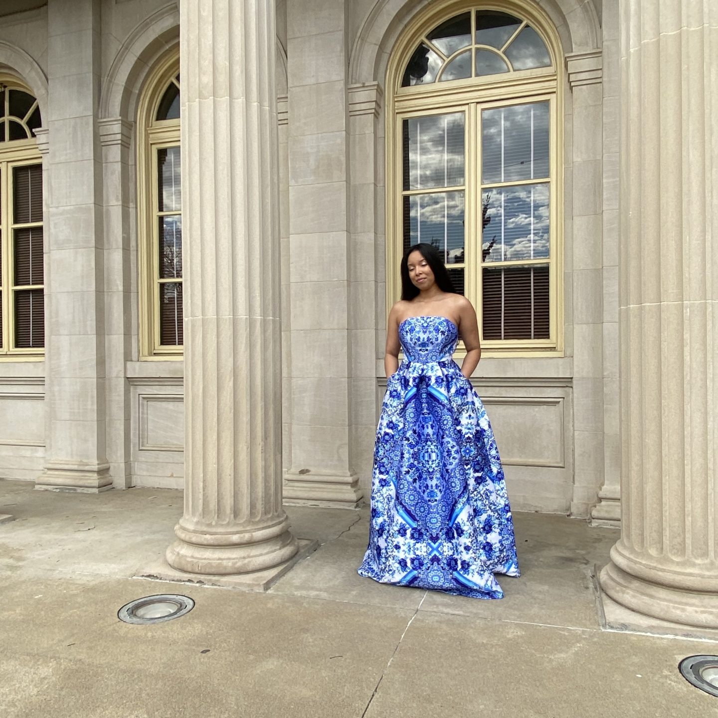 ball gown shopping and elegant glam
