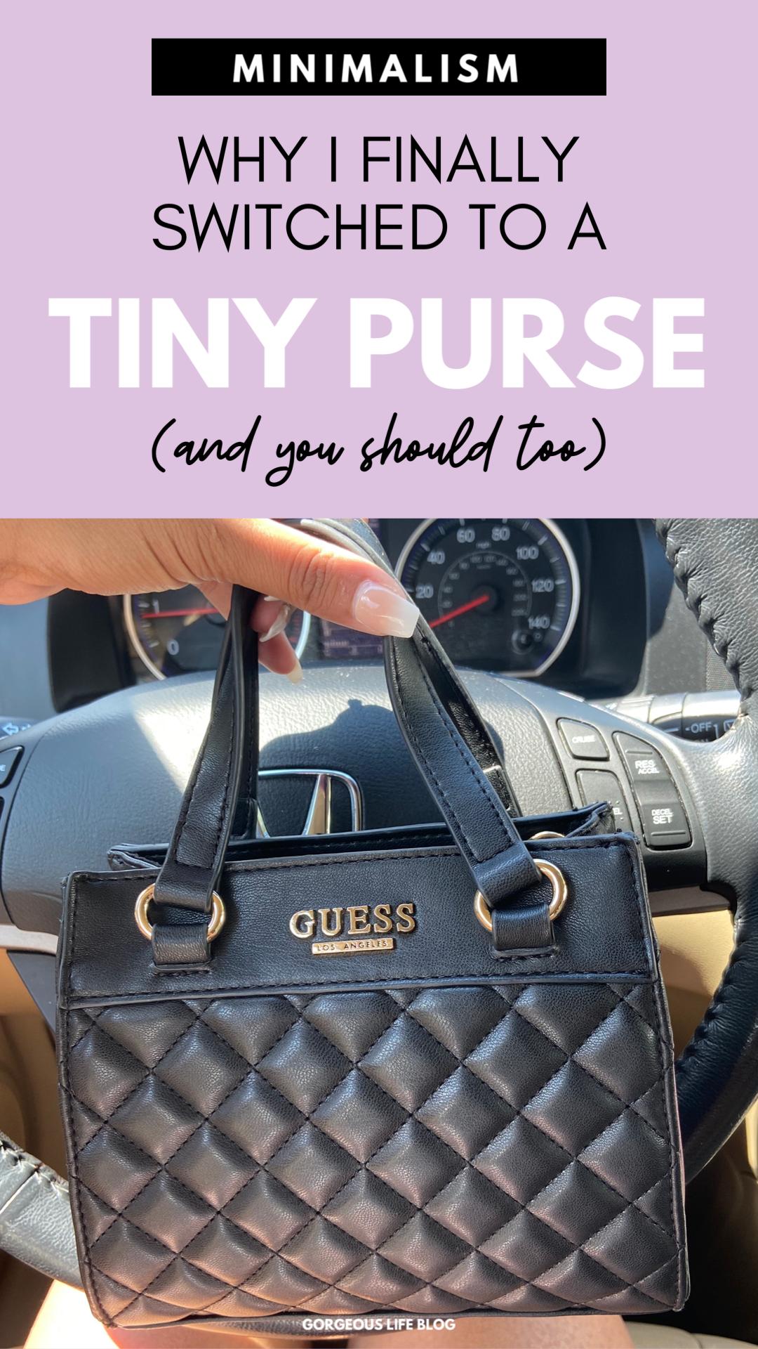 tiny purse minimalism