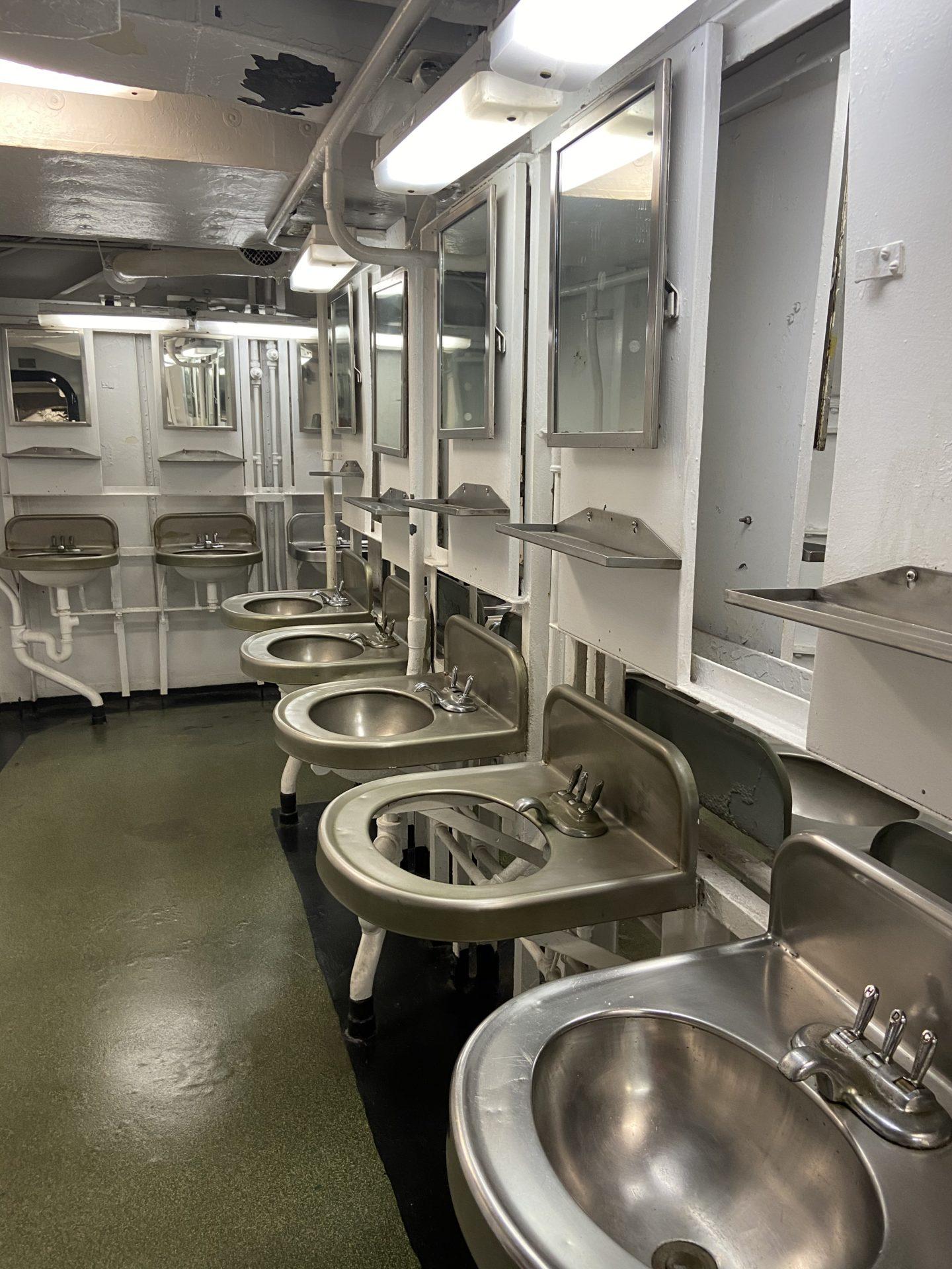 patriots point bathroom